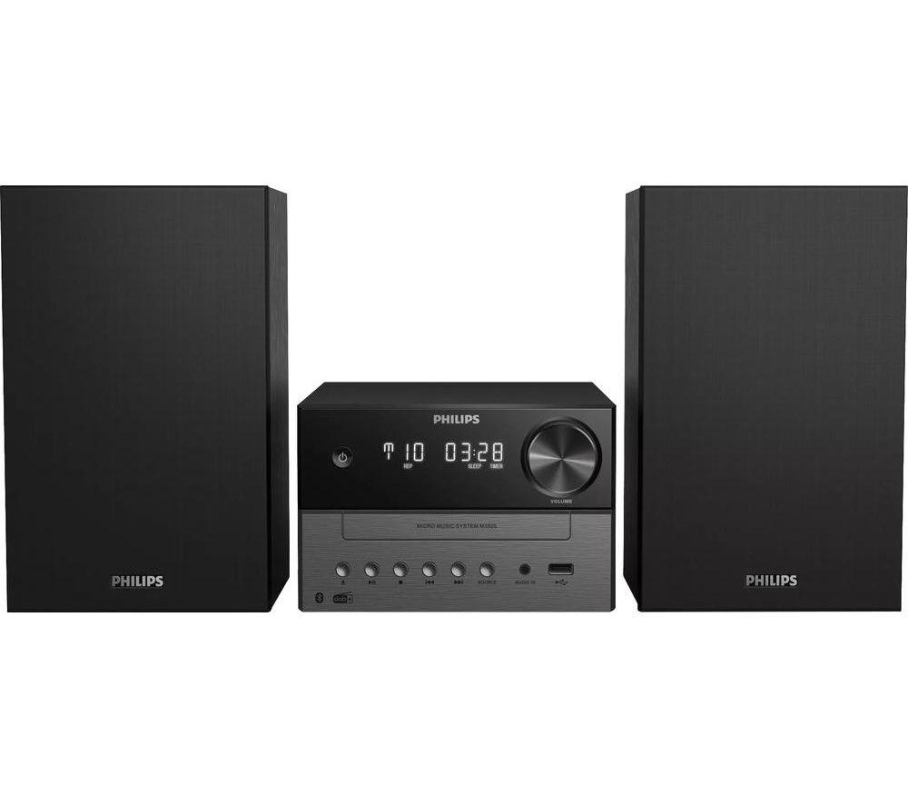 PHILIPS TAM3505/12 Bluetooth Micro Hi-Fi System - Black