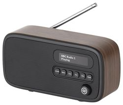 Dexter Portable DAB+/FM Radio - Walnut