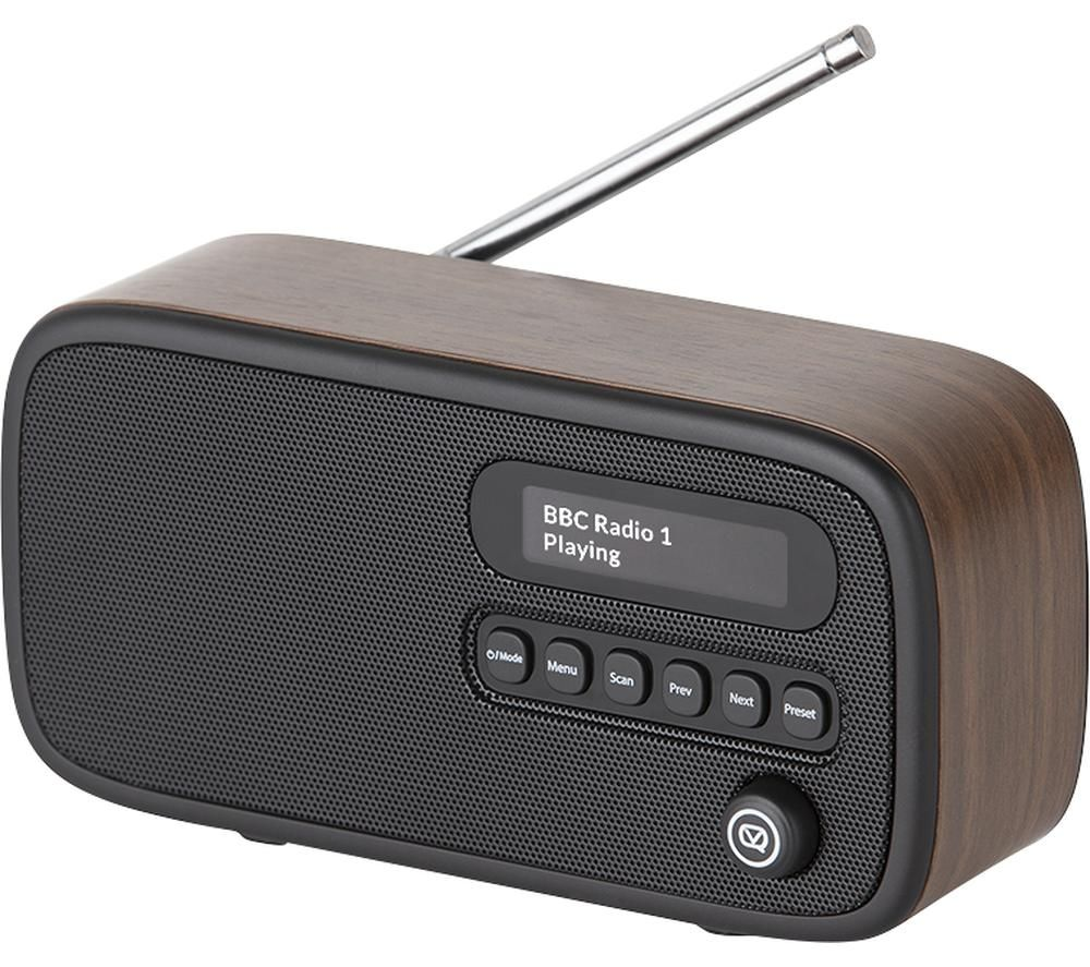 VQ Dexter Portable DABﱓ Radio - Walnut