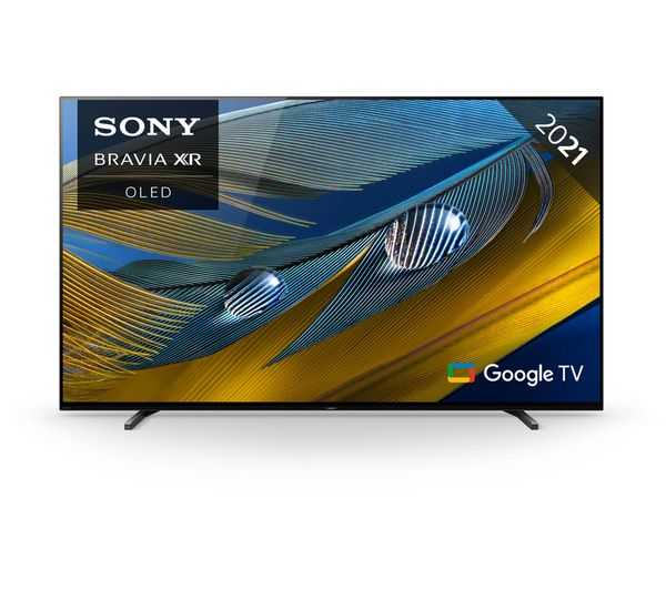 """SONY BRAVIA XR55A80JU 55"""" Smart 4K Ultra HD HDR OLED TV with Google TV & Assistant"""