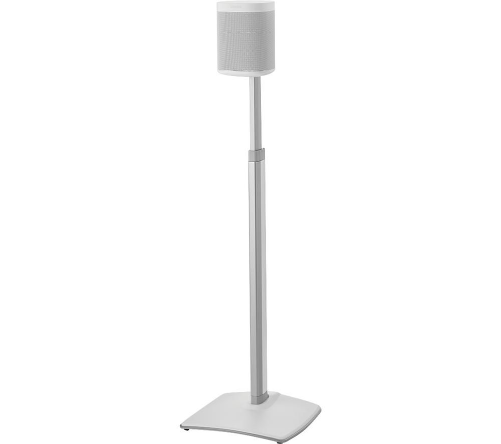 SANUS WSSA1-W2 Sonos Play 1 / Play 3 Speaker Stand - White, White
