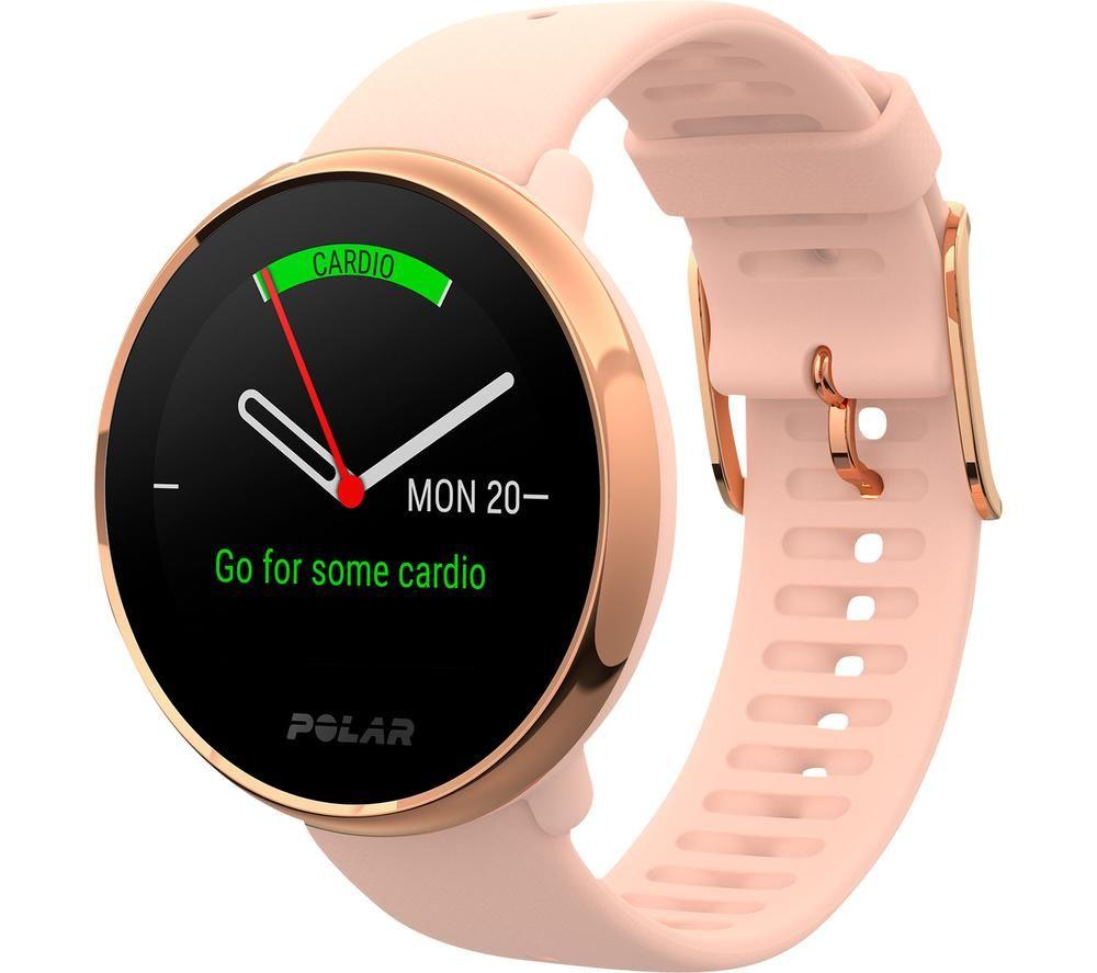 POLAR Ignite Smartwatch - Pink, Small, Pink