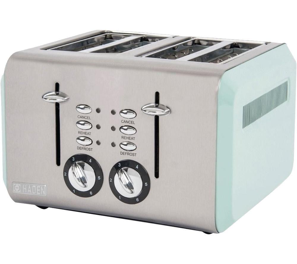 HADEN Cotswold 183774 4-Slice Toaster - Sage