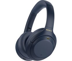 WH-1000XM4 Wireless Bluetooth Noise-Cancelling Headphones - Blue