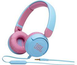Jr310 Kids Headphones - Blue & Pink