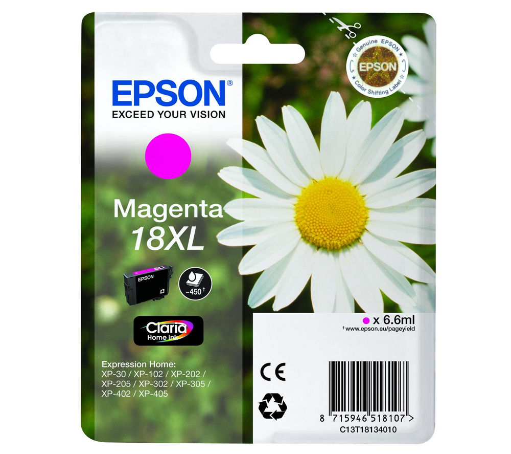 EPSON Daisy T1813 XL Magenta Ink Cartridge
