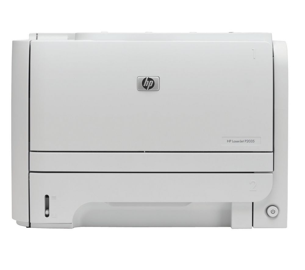 HP Laserjet P2035 Monochrome Laser Printer + 05A Black Toner Cartridge