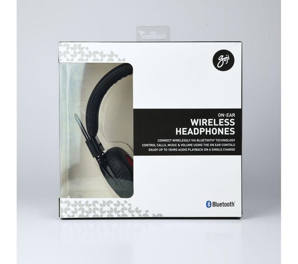 d6ea97fc486 GOJI GONB - GOJI GONBT15 Wireless Bluetooth Headphones - Black ...