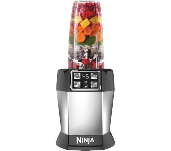 Image of NINJA Nutri Ninja BL480UK Blender - Black & Silver