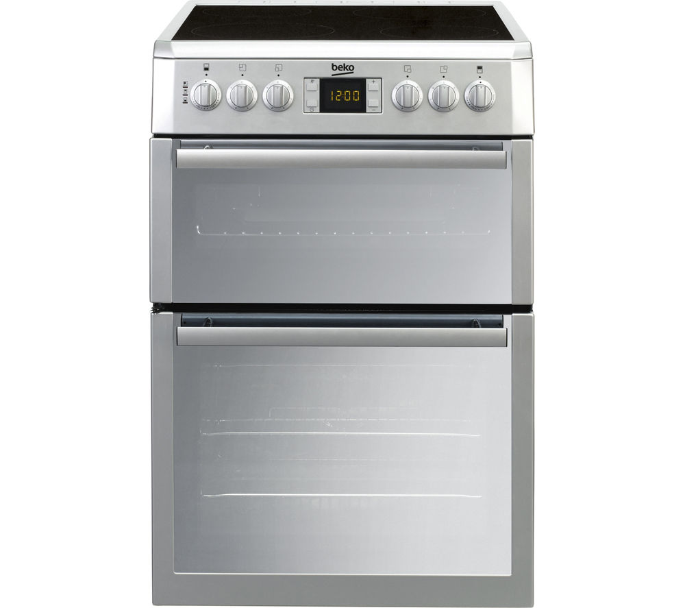 Image of BEKO BDVC674MS 60 cm Electric Ceramic Cooker – Silver, Silver