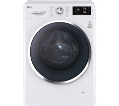 LG TurboWash with Direct Drive FH4U2VCN2 9 kg 1400 Spin Washing Machine - White
