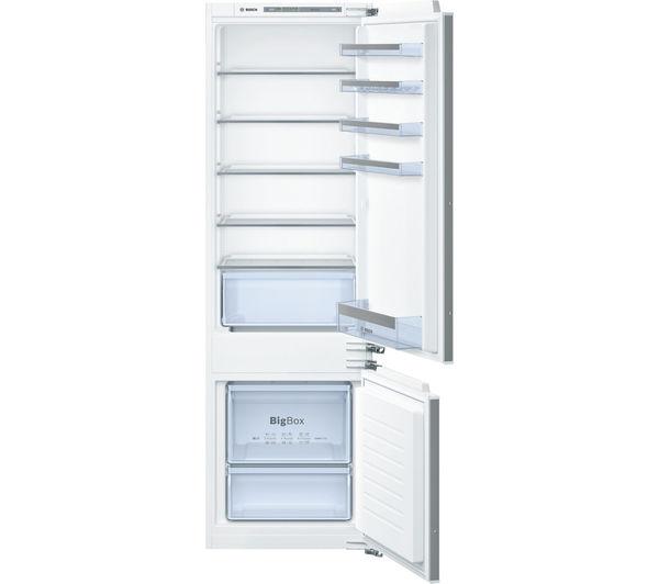 Image of BOSCH Serie 4 KIV87VF30G Integrated 70/30 Fridge Freezer