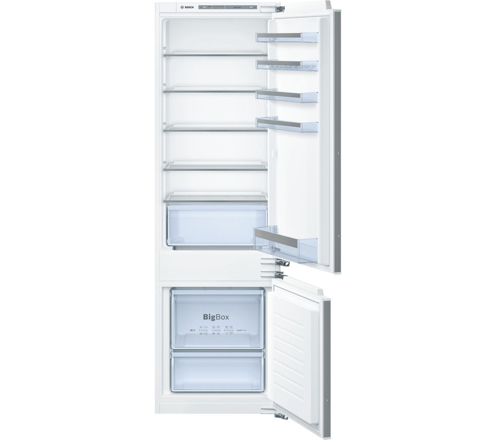 BOSCH Serie 4 KIV87VF30G Integrated 70/30 Fridge Freezer