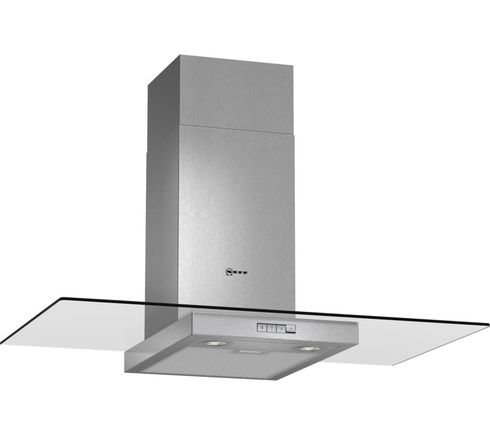 NEFF D89ER22N0B Chimney Cooker Hood - Stainless Steel