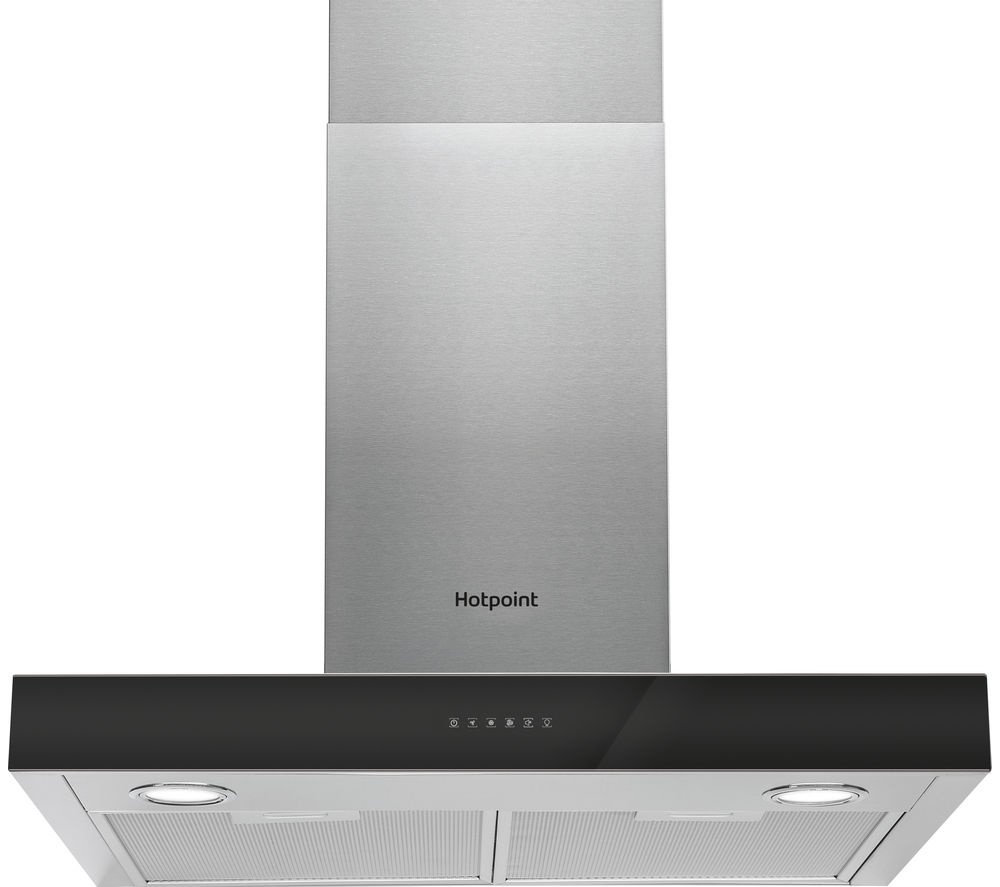 Compare prices for Hotpoint PHBS6.8FLTIX Chimney Cooker Hood Stainless Steel