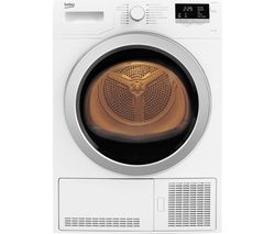 BEKO Pro DCX93150W Condenser Tumble Dryer - White