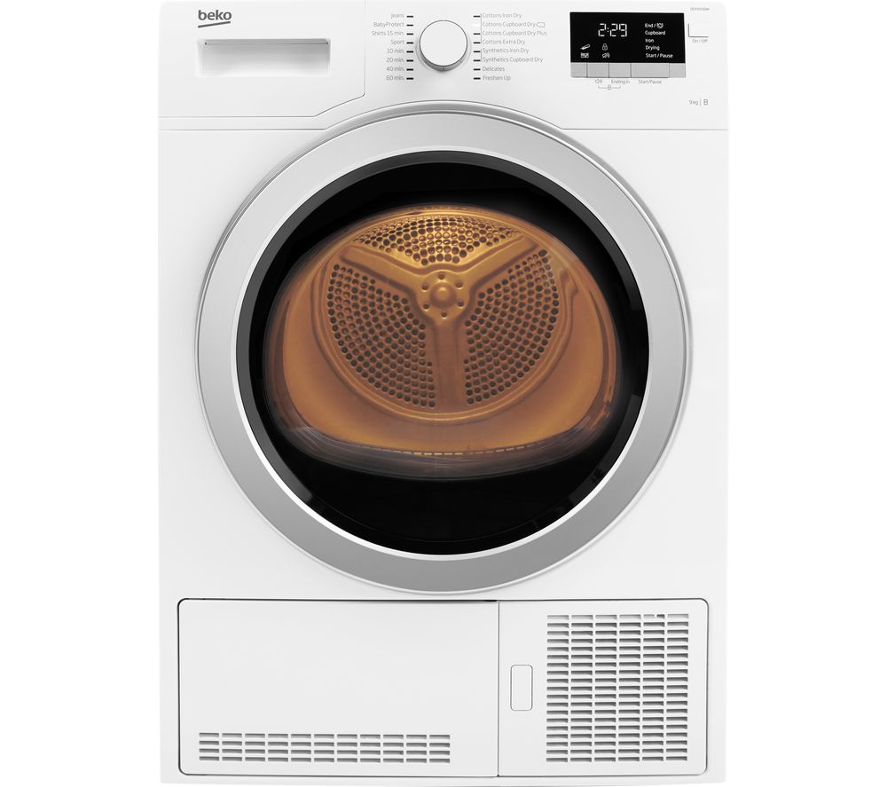 Beko Tumble Dryer DCX93150W Condenser  - White
