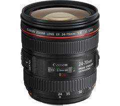 CANON EF 24-70 mm f/4 L Standard Zoom Lens