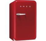 SMEG FAB10RR Fridge - Red