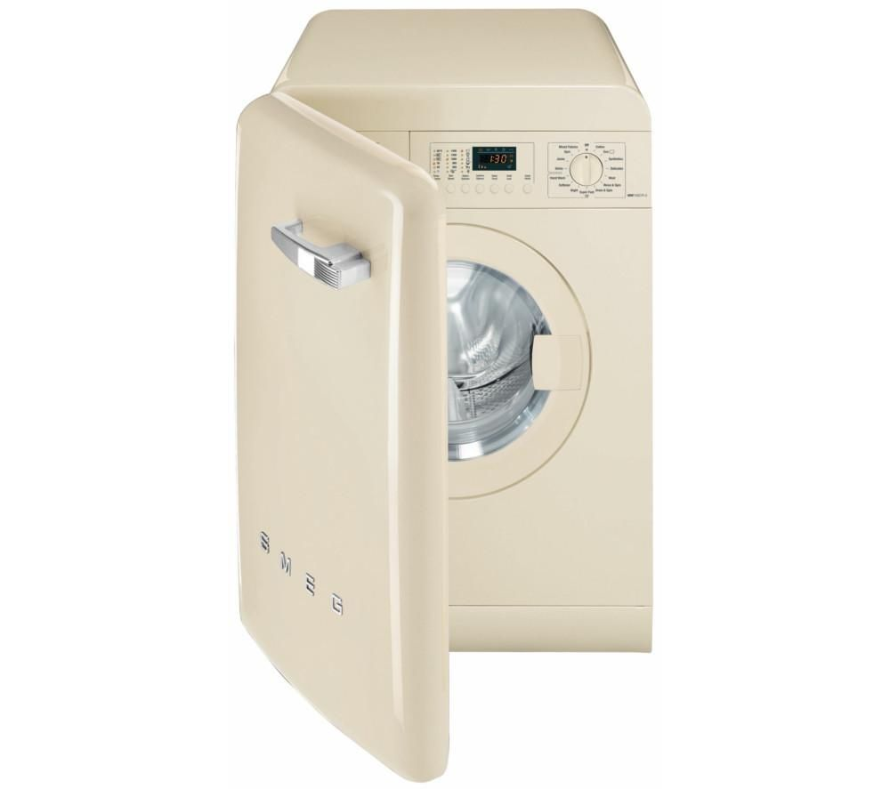 SMEG WMFABCR-2 Washing Machine – Cream, Cream