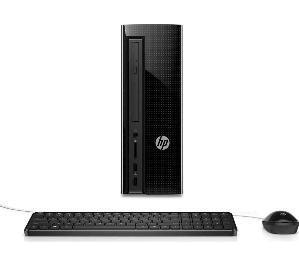 HP Slimline 260-a160na Desktop PC + Office 365 Personal - 1 year for 1 user + LiveSafe Premium 2018 - 1 user / unlimited devices for 1 year