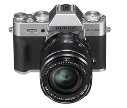 FUJIFILM X-T20 Mirrorless Camera with XF 18-55 mm f/2.8-4 R LM OIS Lens - Silver