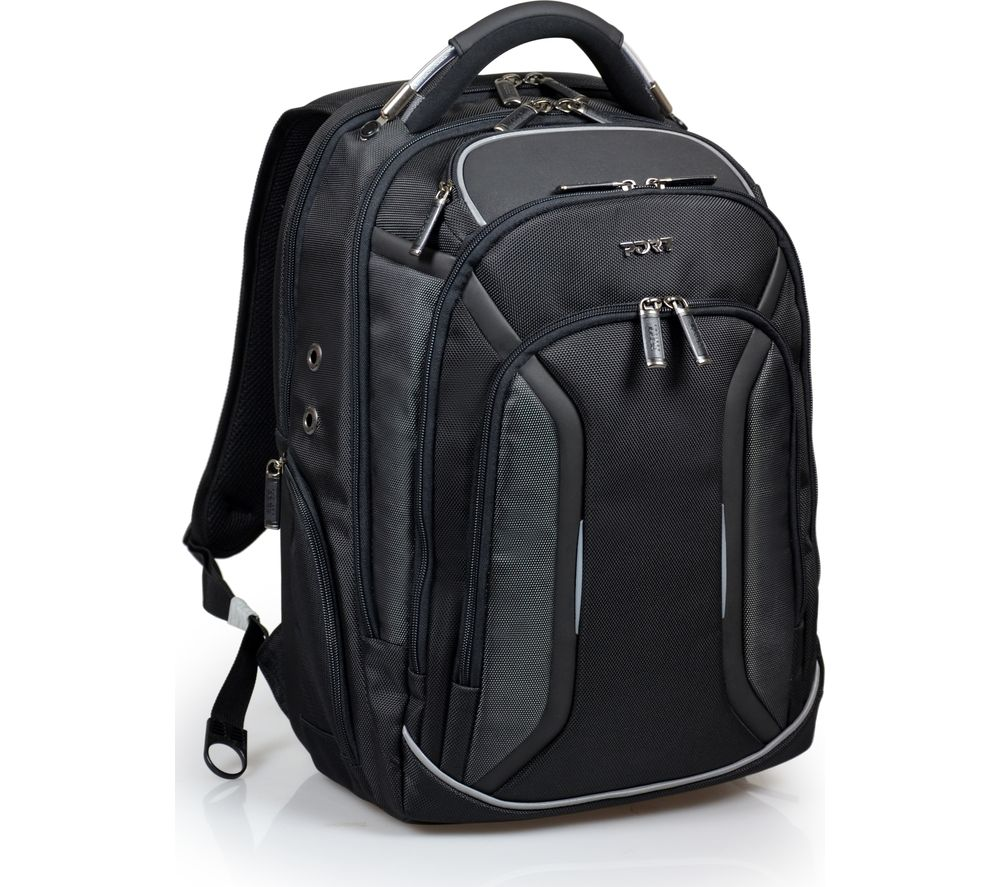 "PORT DESIGNS Melbourne 15.6"" Laptop Backpack - Black"
