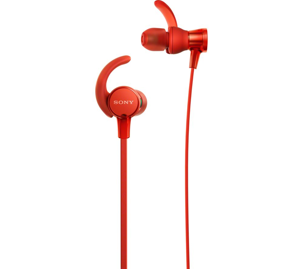 SONY Extra Bass Sports MDR-XB510ASR Headphones - Red