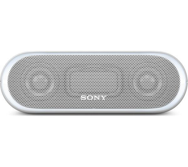sony wireless speakers. sony extra bass srs-xb20 portable bluetooth wireless speaker - white sony speakers