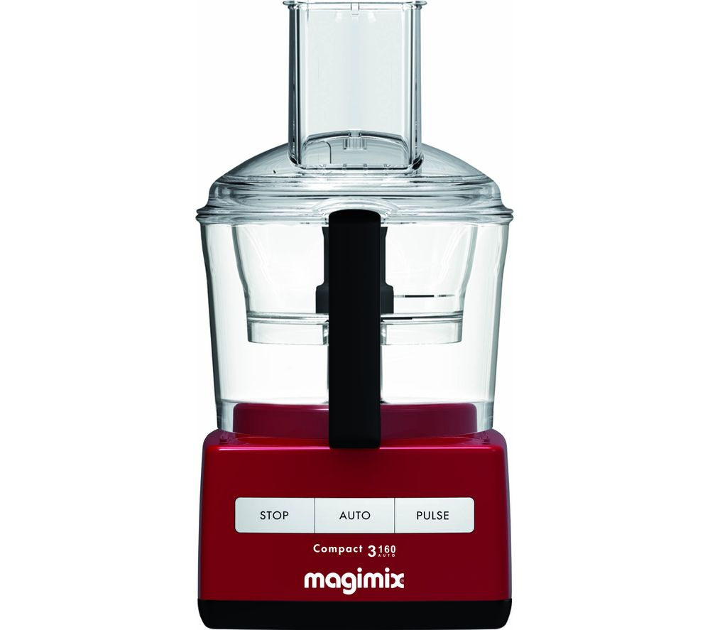 MAGIMIX C3160 Food Processor - Red