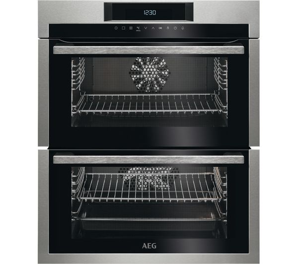 Image of AEG DUE731110M Electric Oven - Stainless Steel