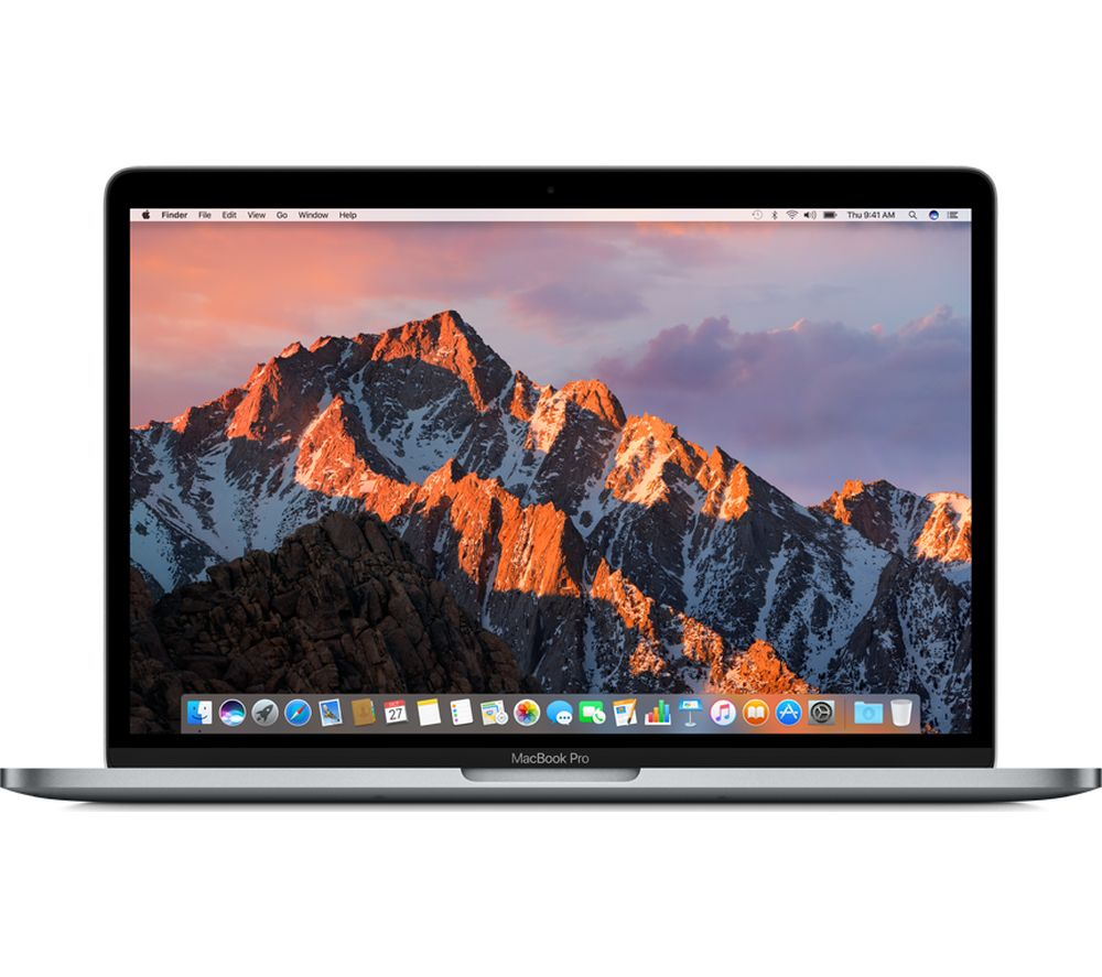 "APPLE MacBook Pro 13"" with Touch Bar - Space Grey (2017) + 60 W MagSafe 2 Power Adapter"