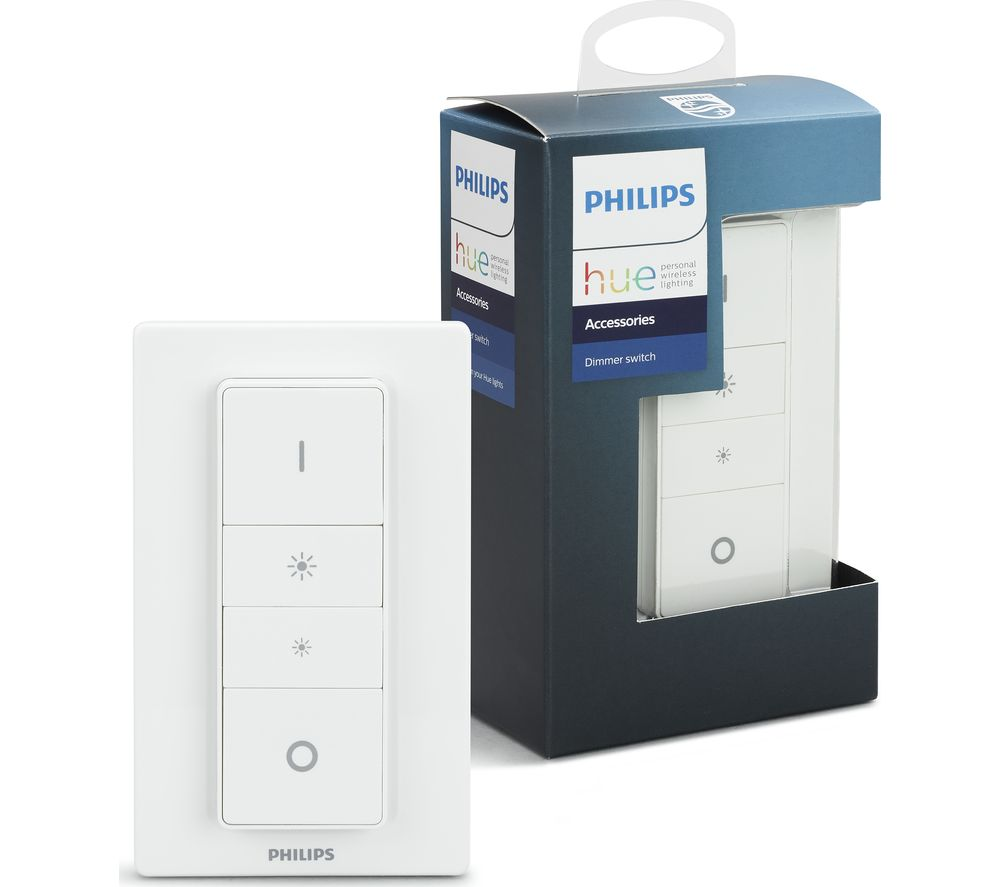 Super Buy PHILIPS Hue Smart Wireless Dimmer Switch + Hue White and RC42
