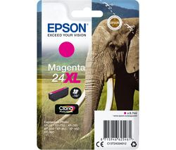 EPSON 24XL Elephant Magenta Ink Cartridge
