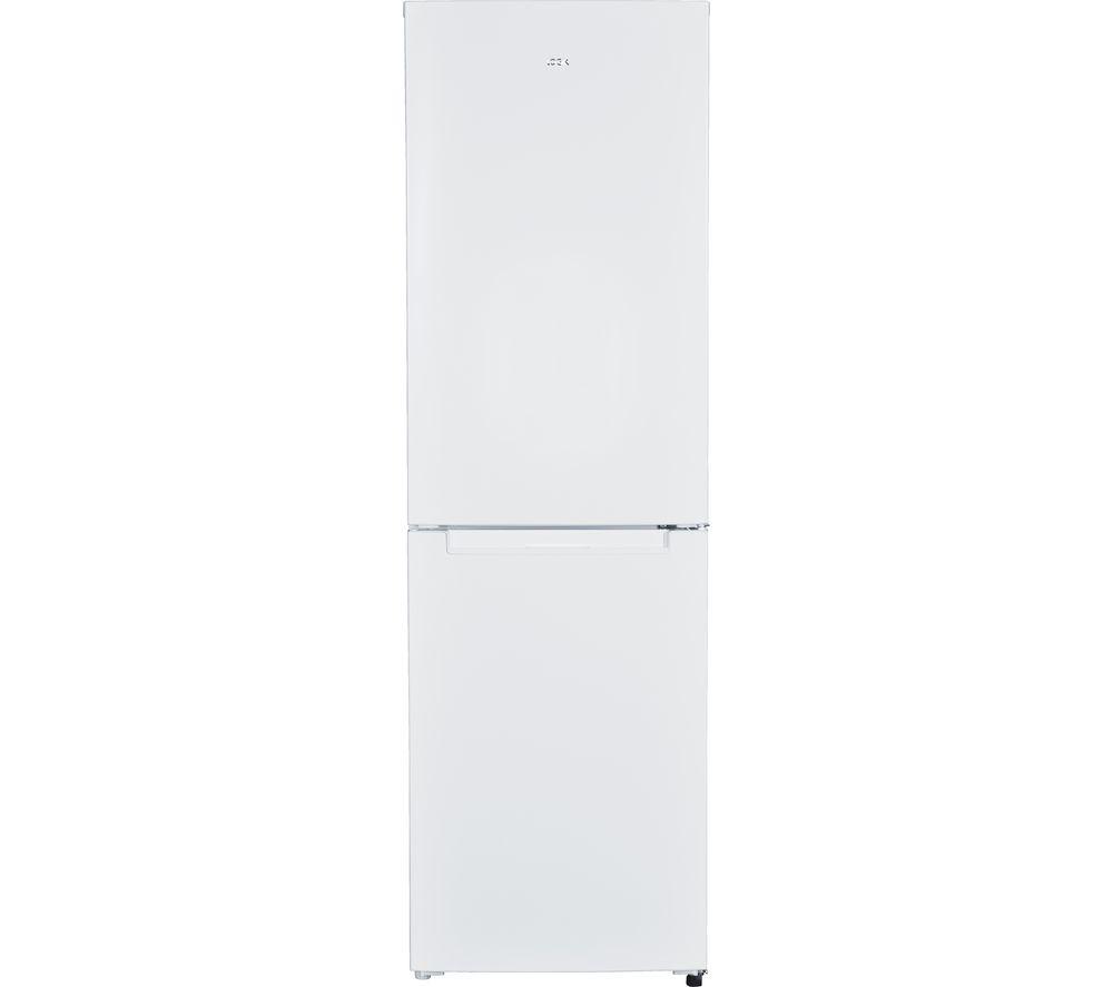 LOGIK LFF55W18 50/50 Fridge Freezer - White, White