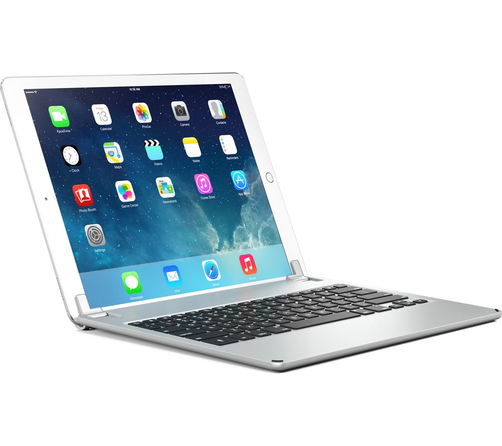 buy brydge 12 9 wireless ipad pro keyboard silver free delivery currys. Black Bedroom Furniture Sets. Home Design Ideas