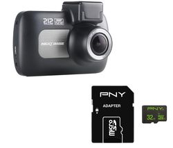 NEXTBASE 212 Lite Dash Cam & 32 GB High Performance Class 10 microSD Memory Card Bundle