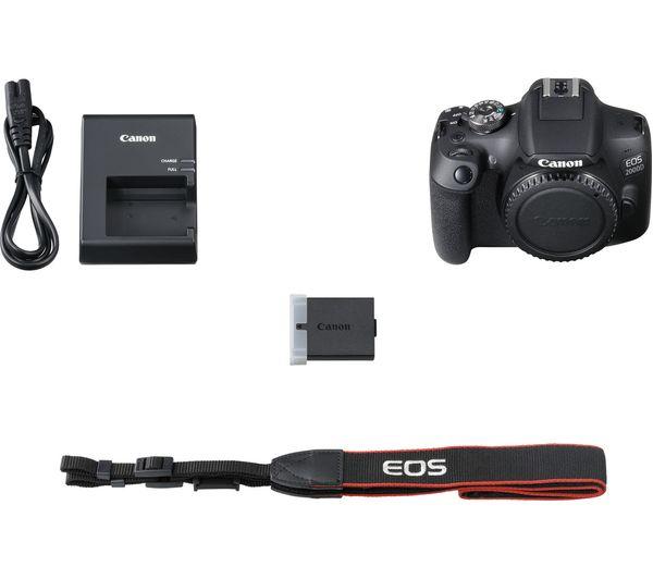 Canon Eos 2000d: Buy CANON EOS 2000D DSLR Camera - Body Only