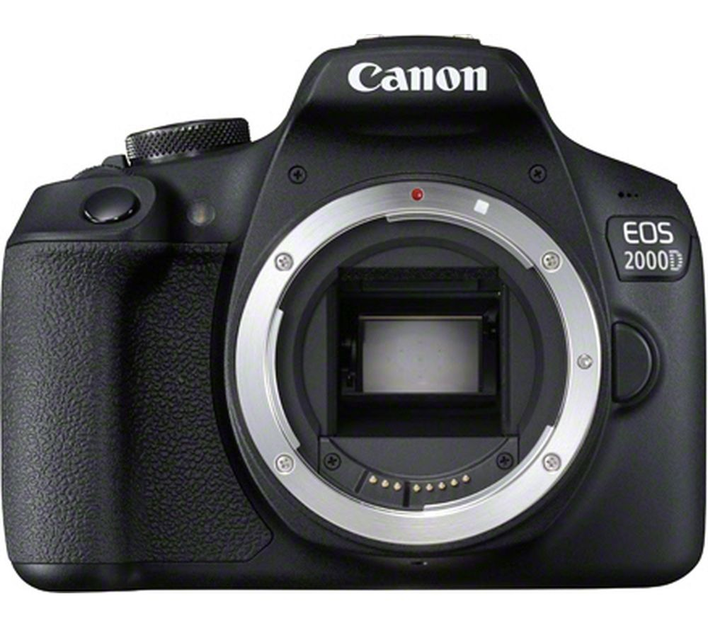 CANON EOS 2000D DSLR Camera – Body Only
