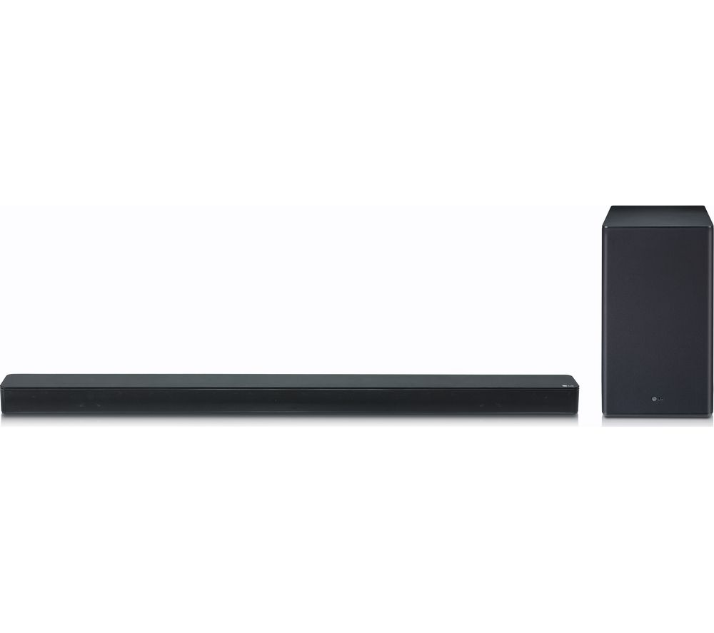 LG SK8 2.1 Wireless Soundbar with Dolby Atmos, Gold