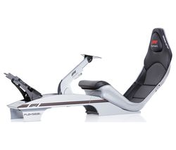 PLAYSEAT Silver F1 Gaming Chair - Silver