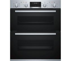Serie 6 NBA5350S0B Built-under Double Oven - Stainless Steel