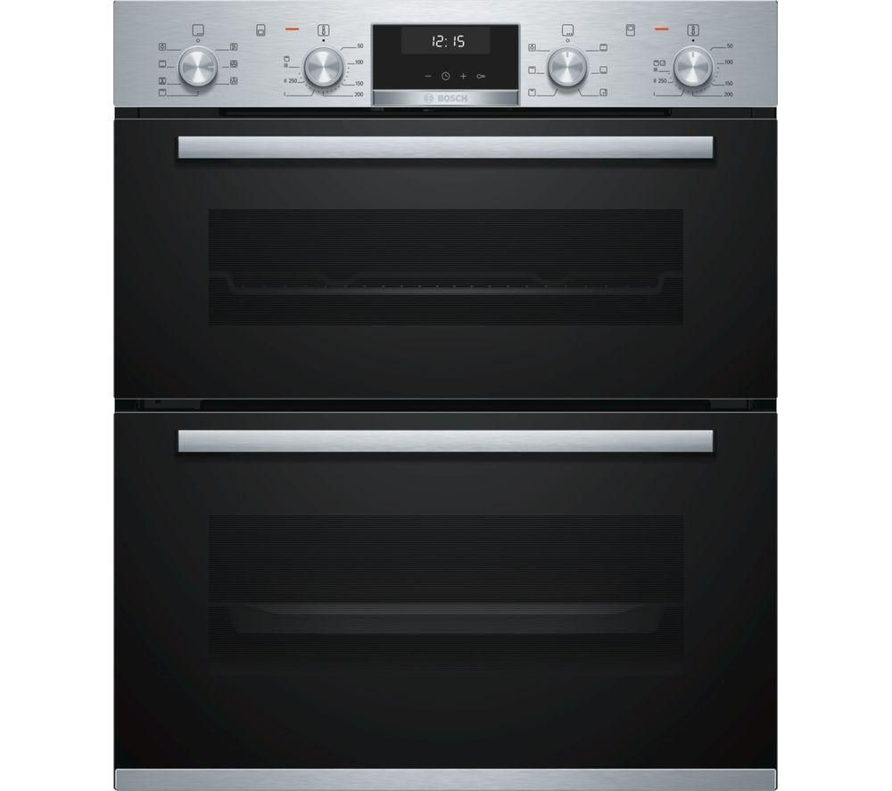 BOSCH Serie 6 NBA5350S0B Built-under Double Oven - Stainless Steel