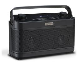 Blutune 5 Portable DAB+/FM Bluetooth Radio - Black