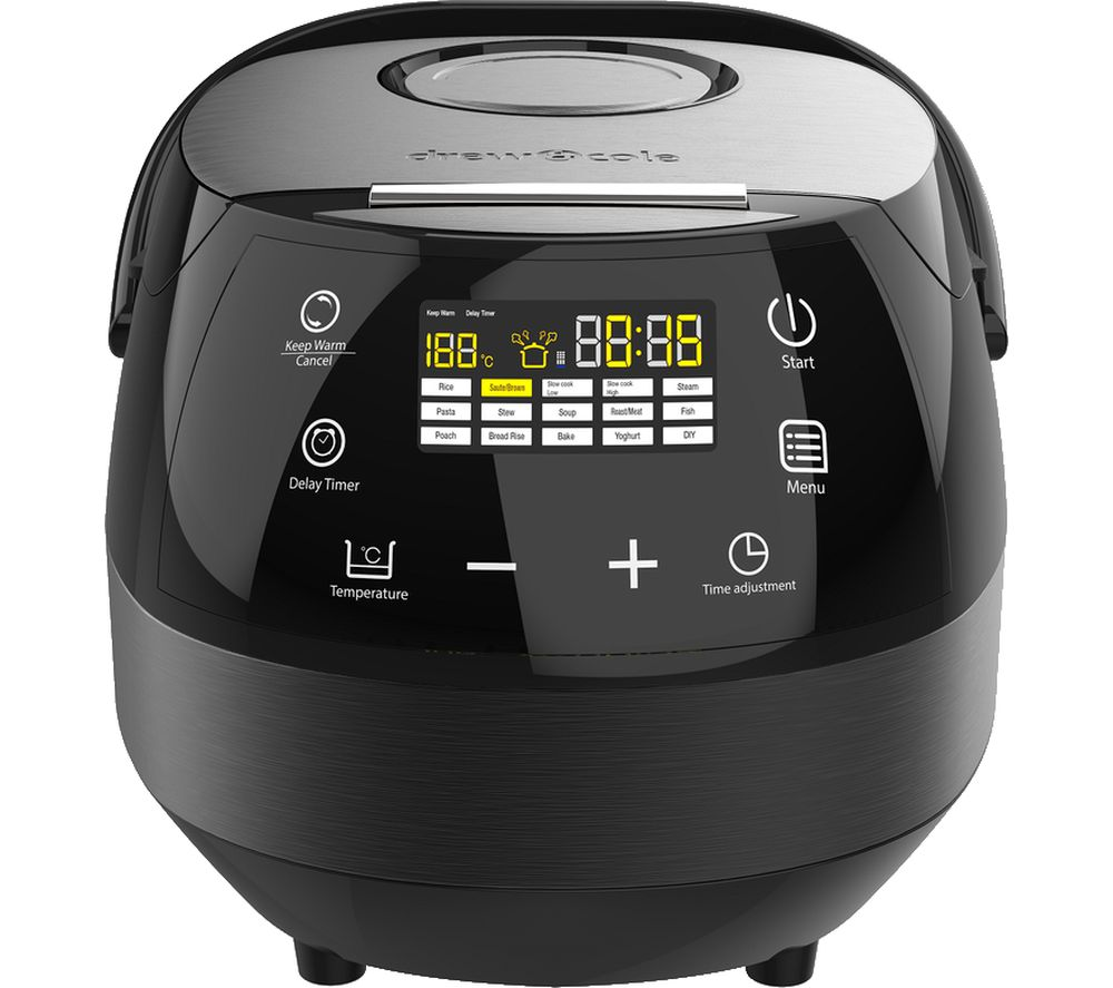 DREW & COLE Clever Chef Multicooker - Charcoal