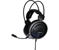 AUDIO TECHNICA ATH-ADG1X Gaming Headset - Black & Blue