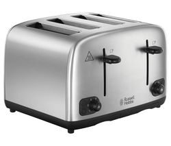 RUSSELL HOBBS 24094 4-Slice Toaster - Stainless Steel