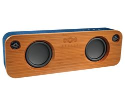 HOUSE OF MARLEY Get Together EM-JA006-DN Portable Bluetooth Speaker - Blue