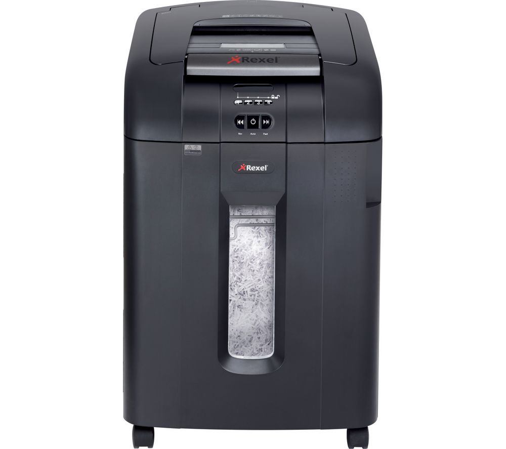 REXEL Auto+ 600X Cross Cut Paper Shredder