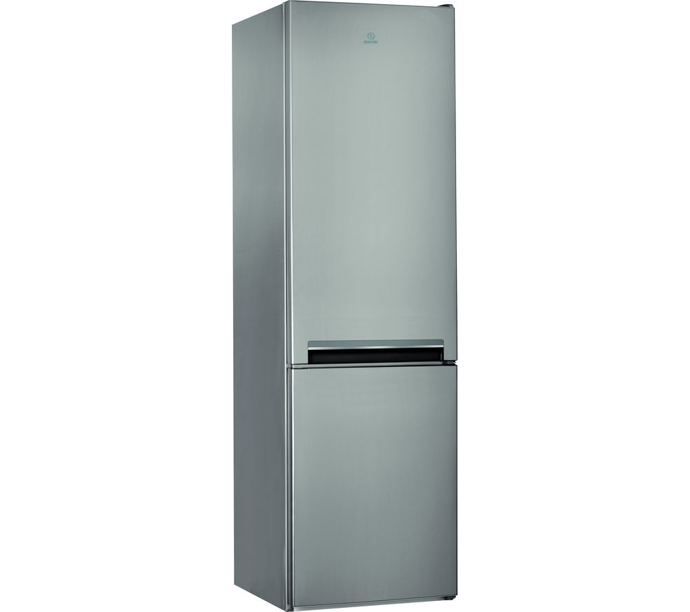INDESIT LD70 S1 X.1 70/30 Fridge Freezer - Graphite